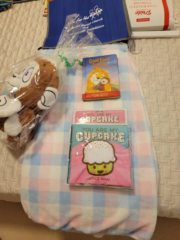 Photo of baby toys and blankets
