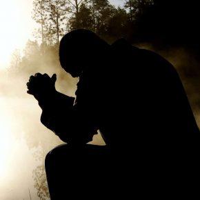 Man doing prayer